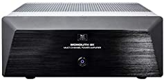 Power: A true 200-watt experience. Unlike most amplifiers or receivers, the Monolith's 200 watts per channel rating is measured with all seven channels driven across the full power bandwidth of 20Hz to 20kHz into 8-ohm loads Additionally, there is NO...