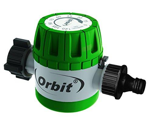 Orbit 97004Timer Meccanico per Rubinetto, Verde, 11,43x 6,35x 7,94cm