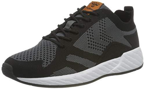 hummel Unisex-Erwachsene Edmonton Legend Seamless Sneaker, Black,46 EU