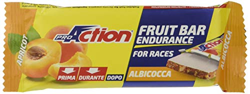 ProAction Fruit Bar (albicocca, confezione da 24 barrette da...