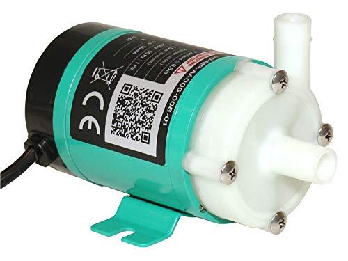 Magnetisch gekoppelte, lebensmittelechte 230V Mini-Kreiselpumpe für Chemie und Reinanwendungen, WPMP-AA006-008-01