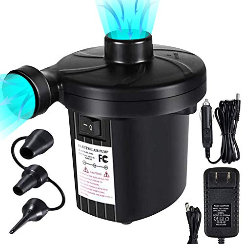 SYOURSELF Electric Air Pump-2 in 1 Portable Quick-Fill Air...