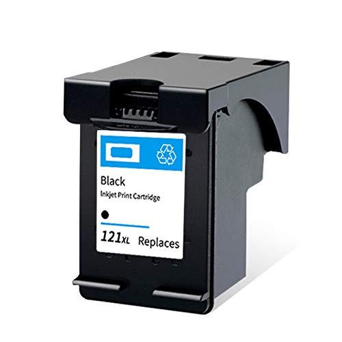 Cartucho de tinta remanufacturado 121XL, repuesto negro y color para HP 121XL para uso con impresora Deskjet F4275 F4280 F4238 F4283 ENVY 100 110 111 114 negro