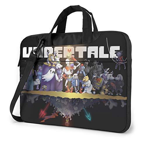 JuaoHuan Undertale Laptop Shoulder Messenger Bag Case Briefcase Sleeve for 13 Inch 14 Inch 15.6 Inch Laptop Case 14 Inch