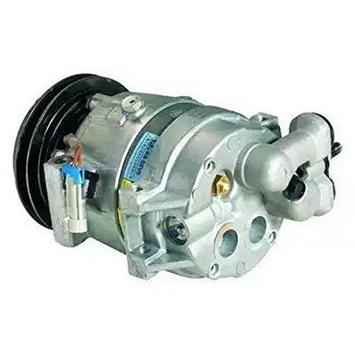 EcommerceParts 9145374929517 - Compresor de aire acondicionado para fabricante: Genuine, ID del compresor: V5, polea de diámetro: 132 mm, ID del compresor: A1, Voltaje: 12 V