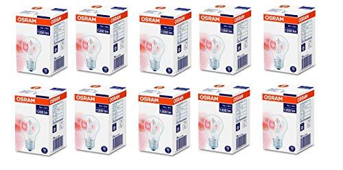 Osram Lot de 10 ampoules halogènes Eco 70 W = 92 W 230 V E27 1200 lm