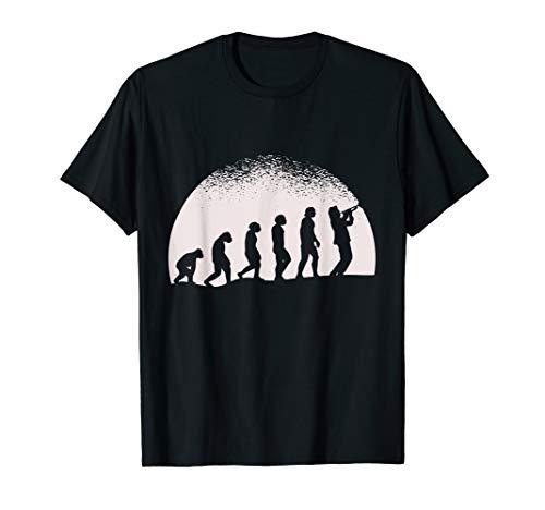 Evolution Trompete T-Shirt Trompeter Trompetenspieler