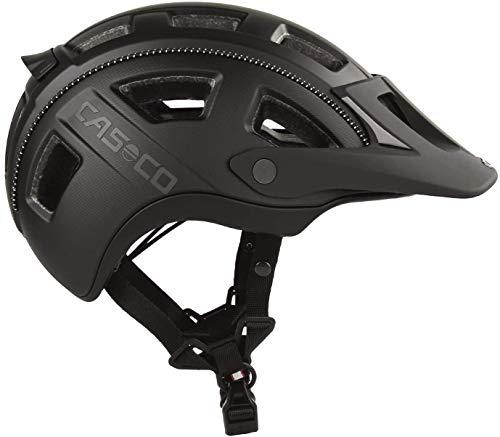 Casco MTBE 2 Fahrradhelm Herren, Damen MTB Helm, Mountainbike Helm Schwarz-Matt (L 58-62)
