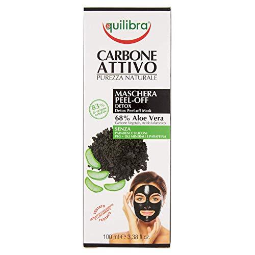 Equilibra Carbone Attivo Maschera Peel-off Detox