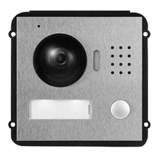 X-SECURITY Videoportero IP - Cámara 1,3Mpx - Audio bidireccional - Monitorización a través de App móvil - Acero Inoxidable antivandálico - Montaje Modular