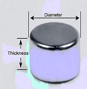 NEODYMIUM DISC MAGNETS D6mmXT6mm GRADE N42 (100PCS LOT)