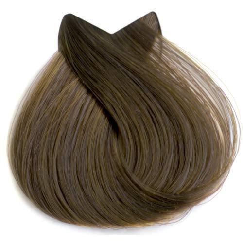 Tahe Organic Care Dauerhafter Farbstoff Haar-Farbe, Nein.7.35 Medium Golden Mahogany Blonde, 100 ml