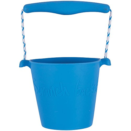 Scrunch Bucket (Blue) - Sand and Beach Toys