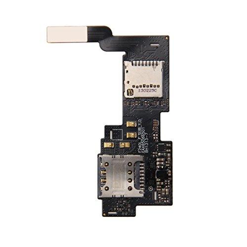 jingtingmy Fijar Las Piezas del teléfono renovar IPartsBuy for LG Optimus G Tarjeta IM Pro / F240 y Lector de Tarjetas SD Flex Cable Accesorio