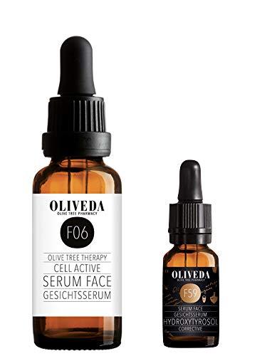 Oliveda F06 Gesichtsserum Cell Active Serum Face 30ml + F59 Corrective Gesichtsserum 15ml