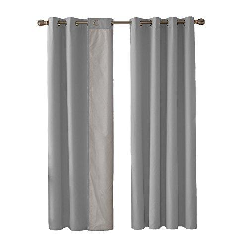 cortinas habitacion matrimonio semi opacas