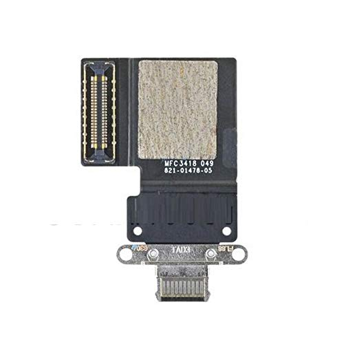 """ePartSolution_ Replacement Part for USB Charger Charging Port Dock Connector USB Port Flex Cable for iPad Pro 11"""" 2018 A1980 A2013 A1934 