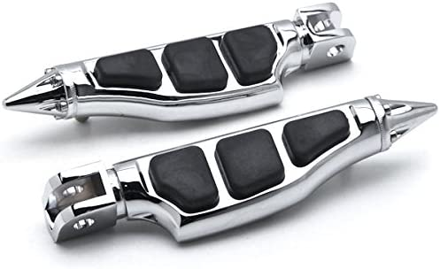 Krator Stiletto Very popular Motorcycle Popular Foot Compat Footrests Left+Right Pegs