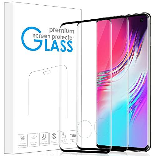 REROXE 2 Stück Panzerglas Schutzfolie für Samsung Galaxy S10, HD Klar, Anti-Kratzen, Anti-Fingerabdruck, Displayschutzfolie Panzerglasfolie für Samsung S10