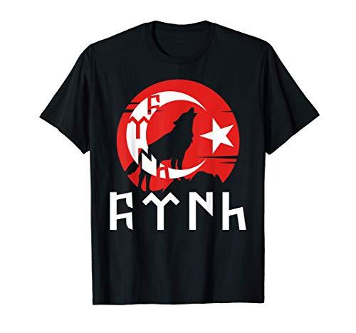Türkei Türk Göktürk Flagge Türkei Istanbul Türkiye Geschenk T-Shirt