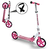 Kinderroller klappbar Höhenverstellbar Big wheels Mädchen und Junge Freizeit City