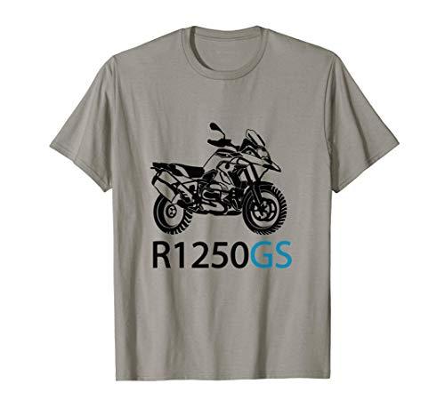 R1250GS Motorrad für Biker Motorradfahrer Frauen und Männer T-Shirt
