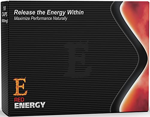 Red Energy, Natural Endurance, Strength and Energy Supplement (10 Caps)