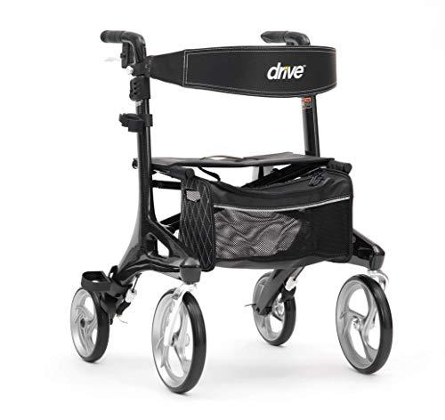 Drive DeVilbiss Healthcare Rollatoren, Schwarz, 1 Stück
