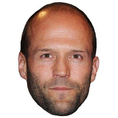 Celebrity Cutouts Jason Statham Maske aus Karton
