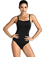 Featuring medium neckline with sewn-in pads offer reliable coverage and light support. IMPORTANT NOTES: To make sure it fits better, please choose your size according to our SIZE CHART in the photos! Crisscross racerback with flexible straps maximize...