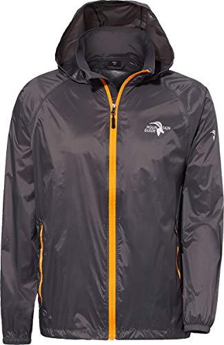DEPROC-Active Herren Outdoor Jacke und Regenjacke DEPROC Robson, Anthracite, XL