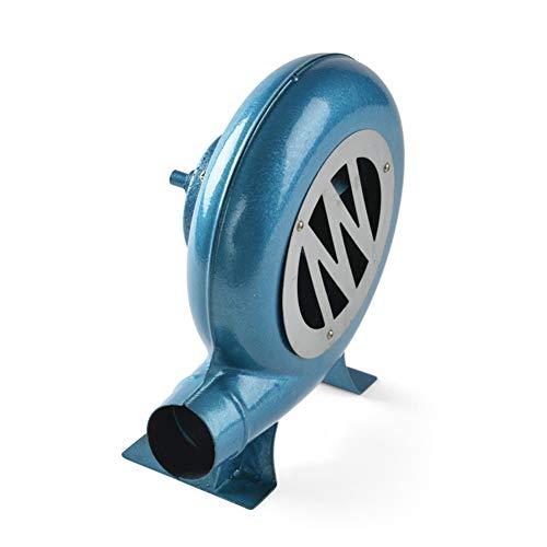 SY-Heat Handkurbel Fan Grill BBQ Feuerzeuge Kohle Feuerzeug BBQ Fan Gebläse Fan-Blue,350W