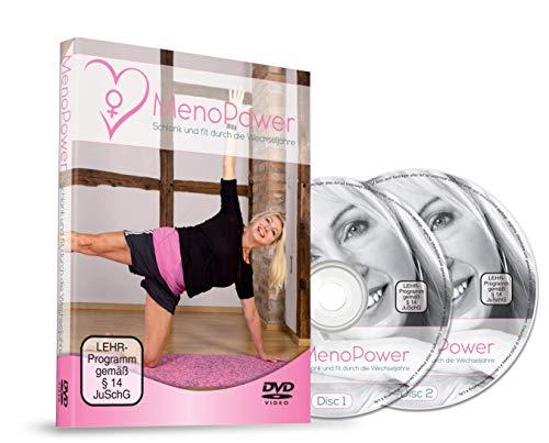 MenoPower DVD - 28 Tage Pilates-Spezialkurs für Frauen (45+) - sehr effektives 1:1-Training für Einsteiger - Schlank und fit durch die Wechseljahre