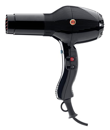 Gamma Piu 5555 - Secador de pelo, color negro