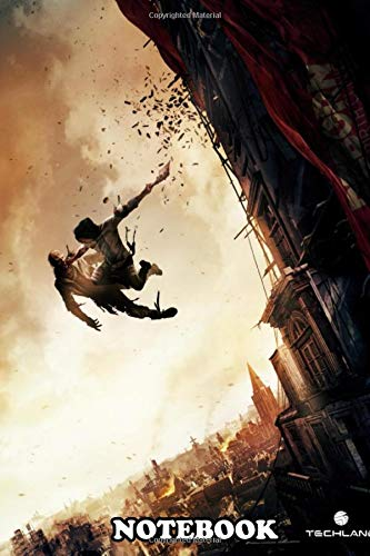 Notebook: Dying Light 2 Game , Journal for Writing, College Ruled Size 6