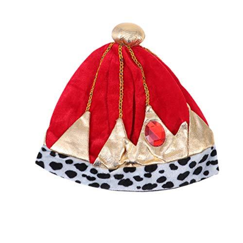 Amosfun halloween couronne chapeau prince reine chapeaux royaux costume de performance de halloween cosplay pour les enfants les enfants