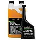 Archoil Diesel Fuel System Kit - AR6500 Diesel Treatment (33 oz) + AR6400-D Diesel Fuel System Cleaner