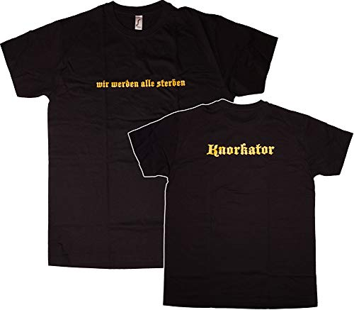 Knorkator T-Shirt sterben (XL)