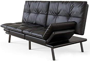 Milemont Memory Foam Convertible Futon Sofa Bed