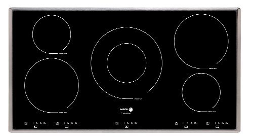 Fagor IFA90BF 36-Inch Induction Cooktop without Trim, Beveled Front
