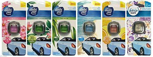Ambi Pur Car/Auto Lufterfrischer Mix (6x2ml)