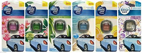 Ambi Pur Car/Auto Lufterfrischer Mix (6x2ml)