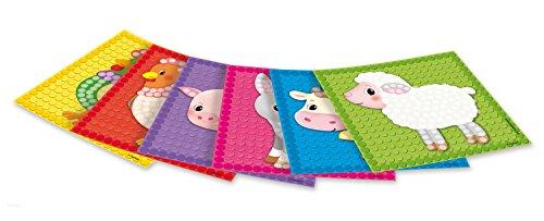 PlayMais 160279 - Card Set Mosaic Little Farm, Bastelset