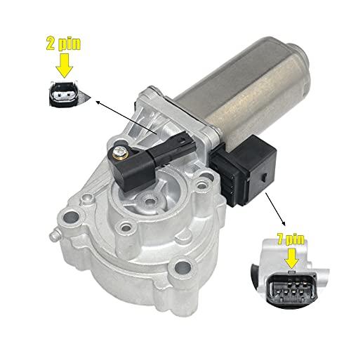 27107566296 Motor de ajuste de caja de transferencia con sensor, caja de transferencia Actuador VTG Motor Hi Low Compatible con E83 E53 E70 X3 X5# 27107541782 27103455136
