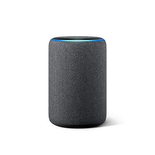 Nuevo Echo (3ra generación) – Bocina inteligente con Alexa – Negro