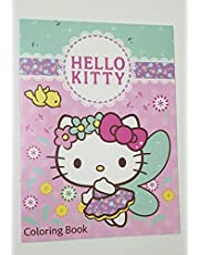 HELLO KITTY COLOURING BOOK WITH STICKERS(PACK OF 12)