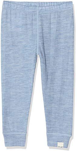 CeLaVi Baby Leggings/Hose in Weicher Wolle Pantalon, Bleu (Blau), 52 (Taille Fabricant: 50) Mixte bébé
