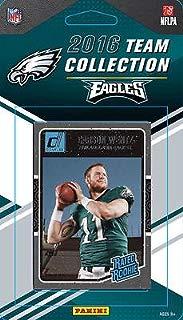 2016 Donruss Football Philadelphia Eagles Team Set of 12 Cards in Factory Sealed Package: Rueben Randle(#205), Malcolm Jenkins(#226), Sam Bradford(#227), Ryan Mathews(#228), Darren Sproles(#229), Jordan Matthews(#230), Zach Ertz(#231), Brent Celek(#232), Fletcher Cox(#233), Ron Jaworski(#234), Carson Wentz(#356), Wendell Smallwood(#399)