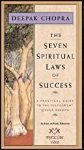 THE SEVEN SPIRITUAL LAWS OF SUCCESS - Filmed before a live TV audience , Dr. Chopra's step-by-step description of a system for developing one's 'pure potentiality' for happiness. VHS Videocassette (NTSC). Color. 80 minutes. In slipcase as shown.