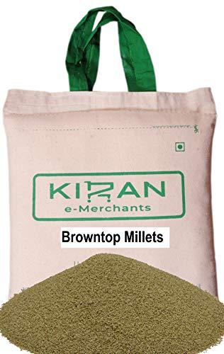 Kiran's Browntop Millets,(braune Hirse) Eco-friendly pack, 10 lb (4.54 KG)